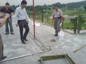 Project manager at site