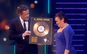 Susan Boyle overwhelmed to receive Triple Platinum Disc